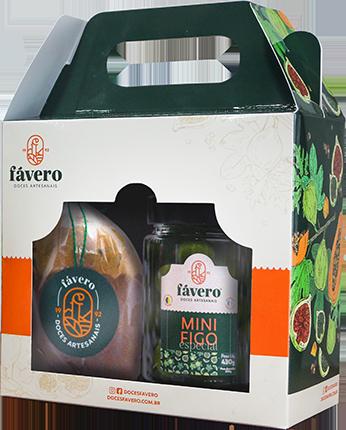Fávero Doces Caseiros • Kit 2 - Kit Especial de Natal